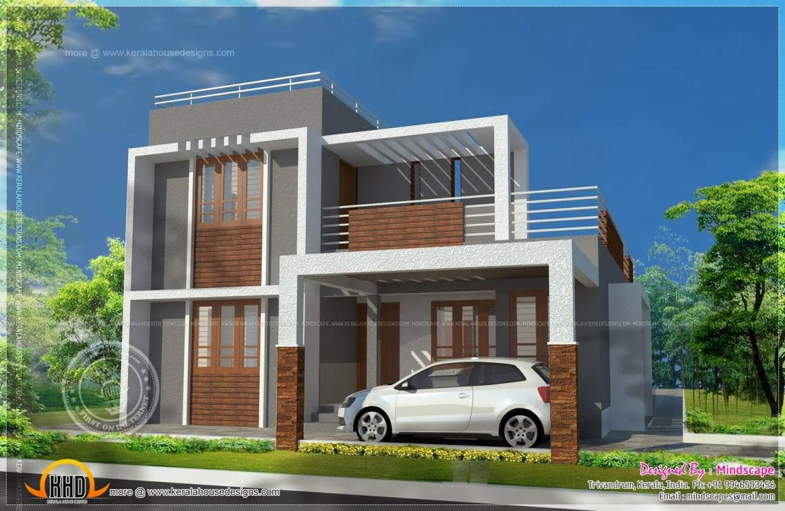 Front Design Of House In Indian Double Story | Interior Design
