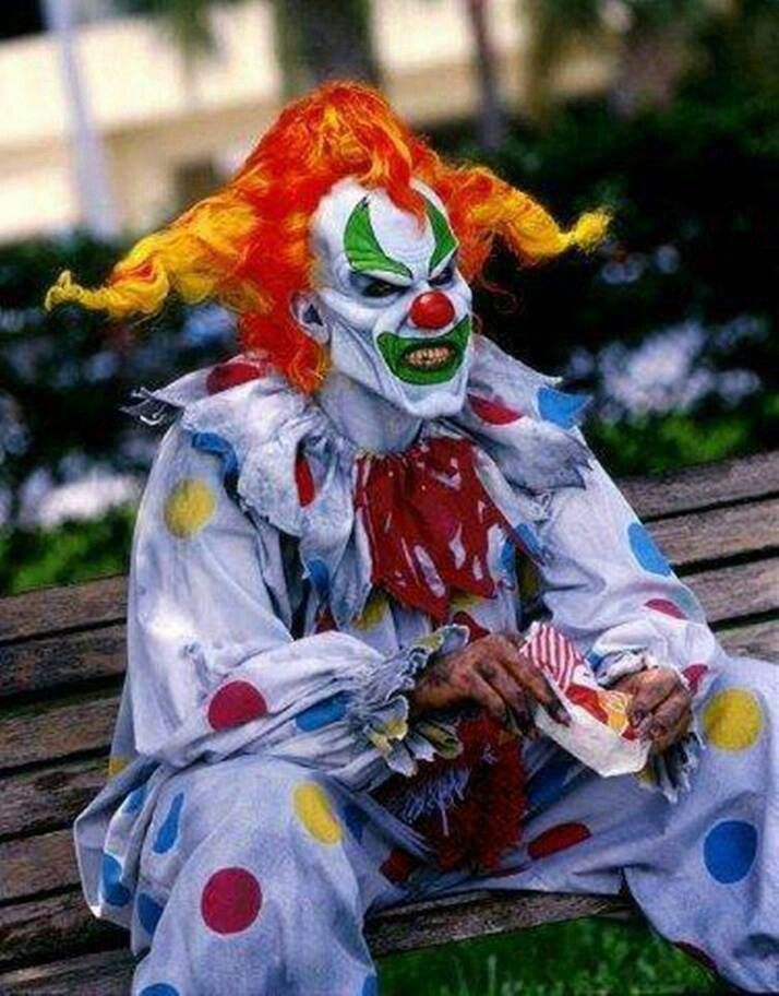 dress up like a creepy clown and scare the shit out of