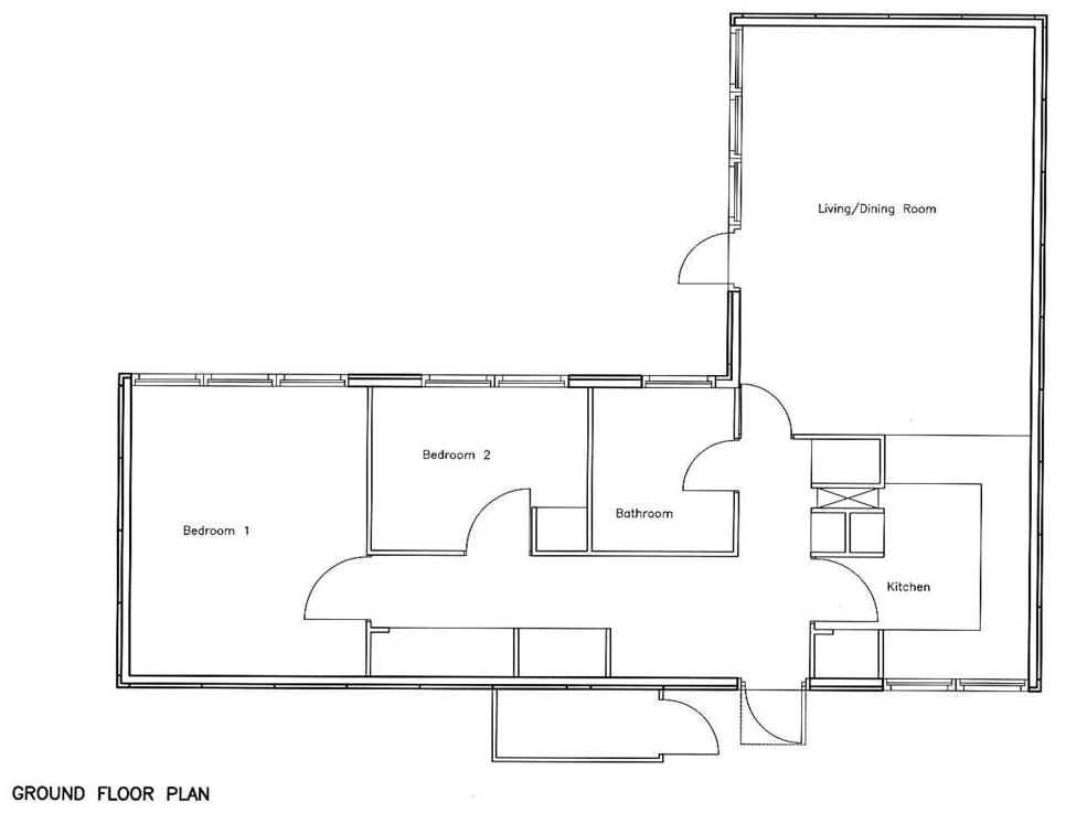 2 Bedroom 2 Bath Cottage Plans