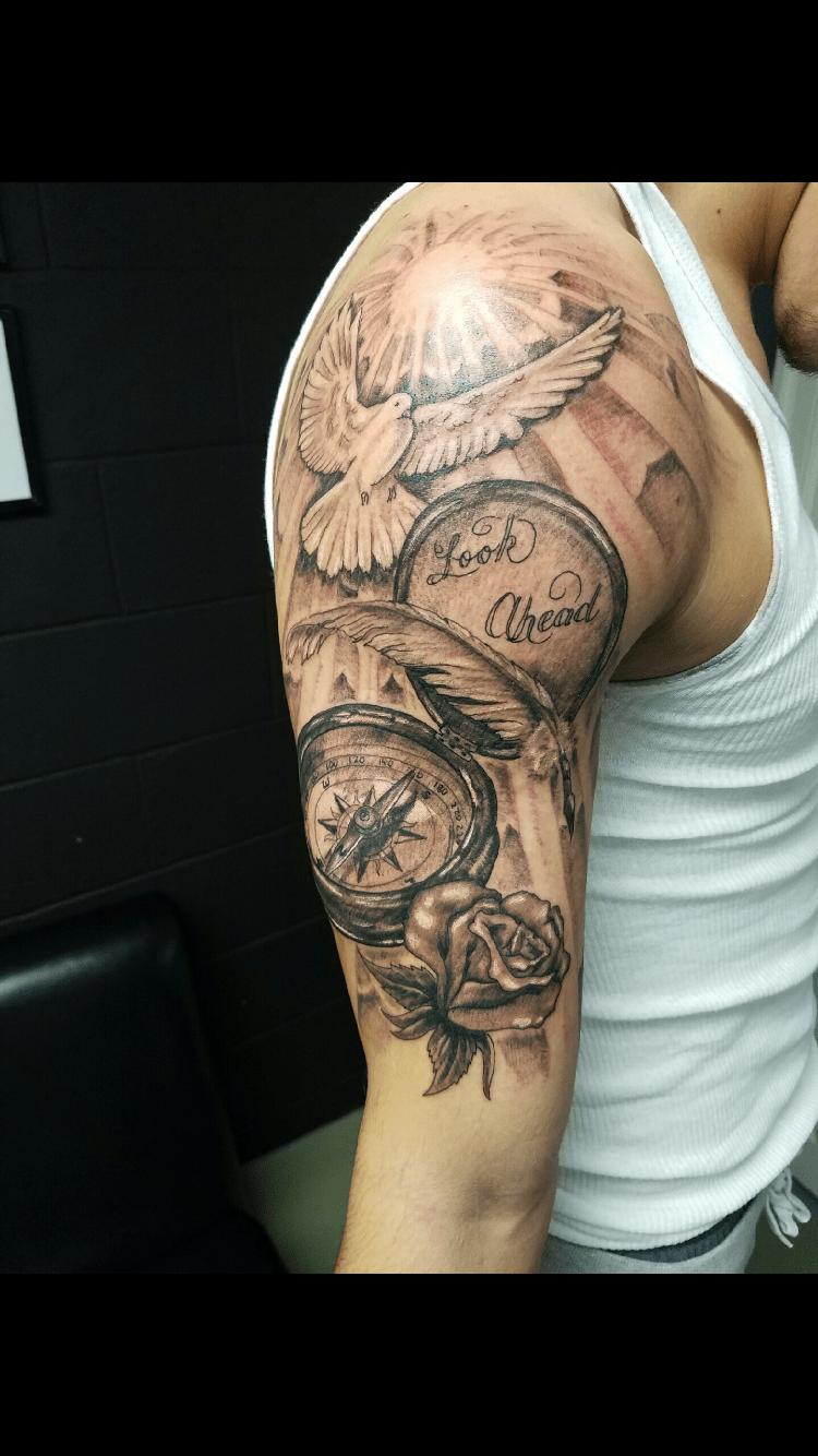 Men's half sleeve tattoo Tattoos Pinterest Tattoo