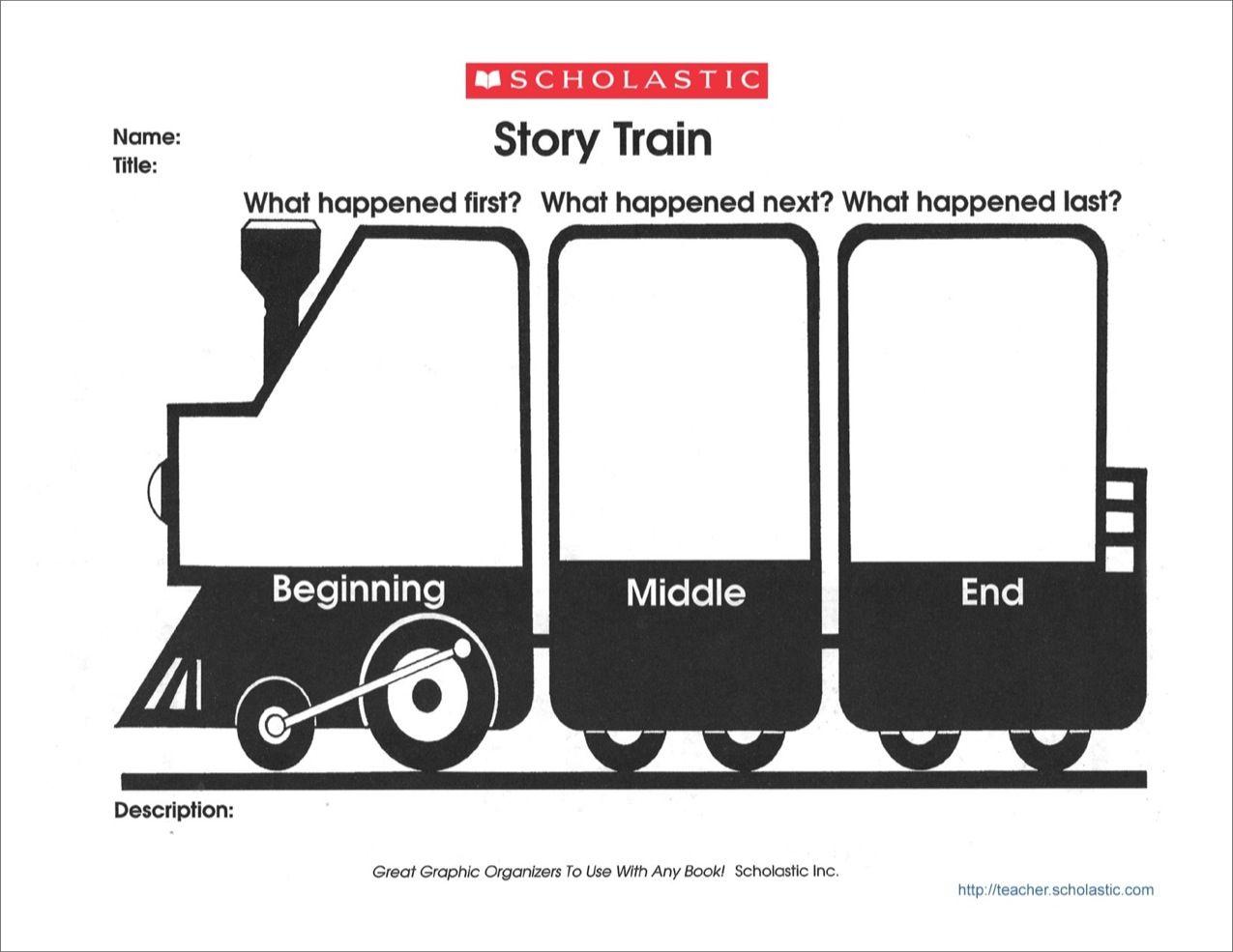 Graphic Organizer Story Train
