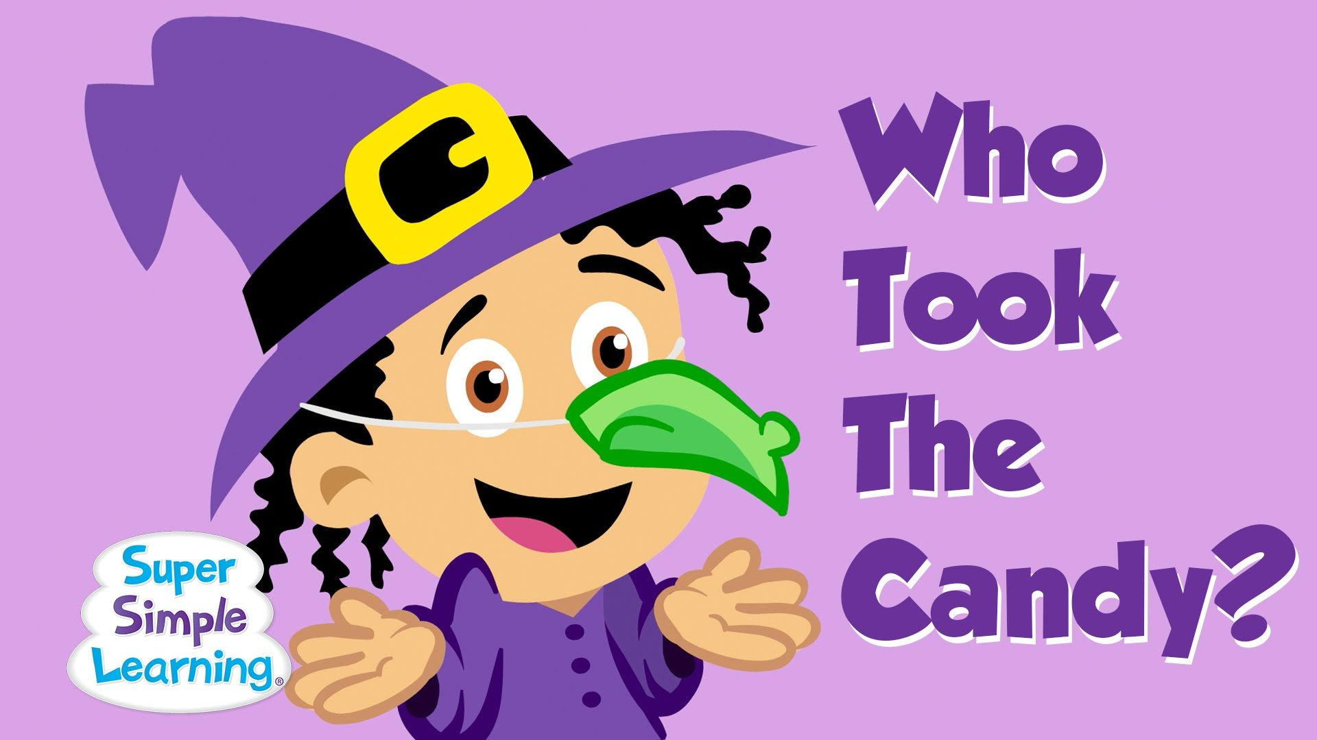 Who Took The Candy By Super Simple Learning It S Who