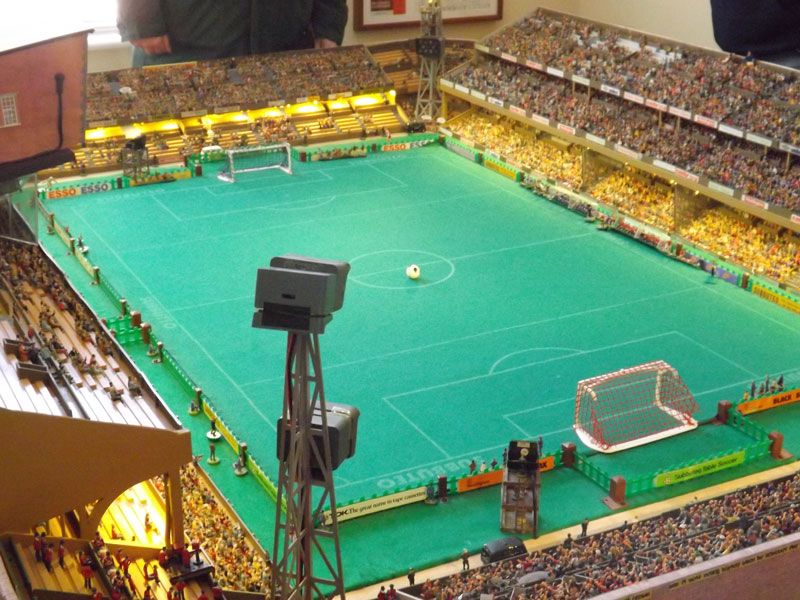 Subbuteo at the Stadium of Fingers... My childhood