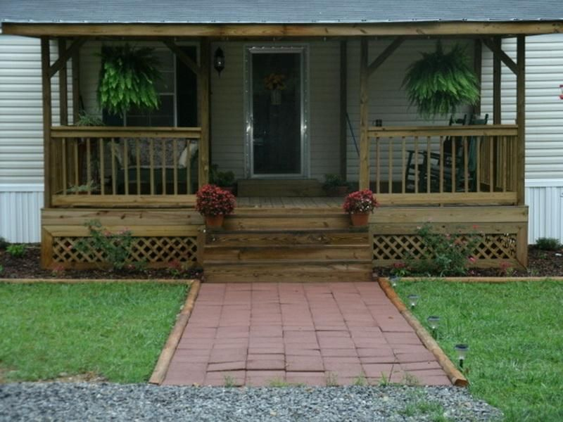 Wide Front Porches And Low Pitched Roofs Are Typical