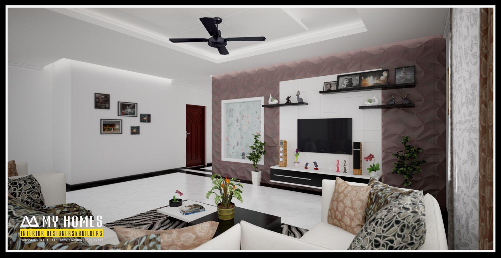 Kerala living room designs present trendy designs for ...
