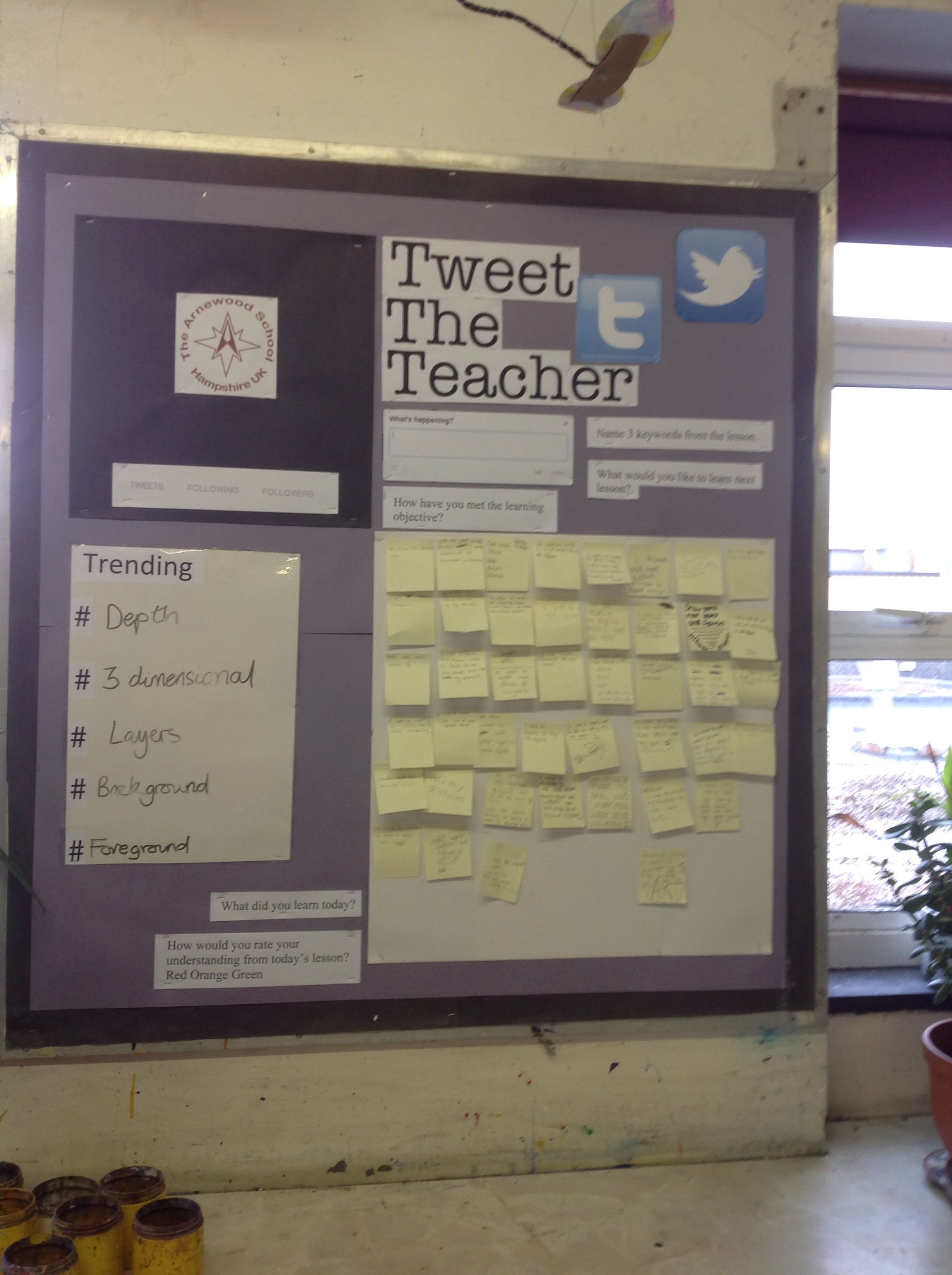 Twitter Display Board