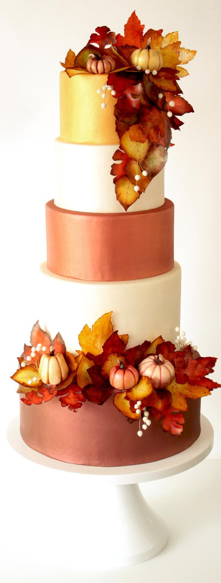 Learn to Make This Fall Wedding Cake and Decor! Couture