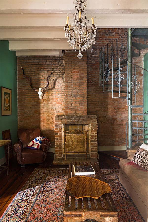 Restoration Of Eclectic French Quarter Pied A Terre In New Orleans French Quarter Restoration