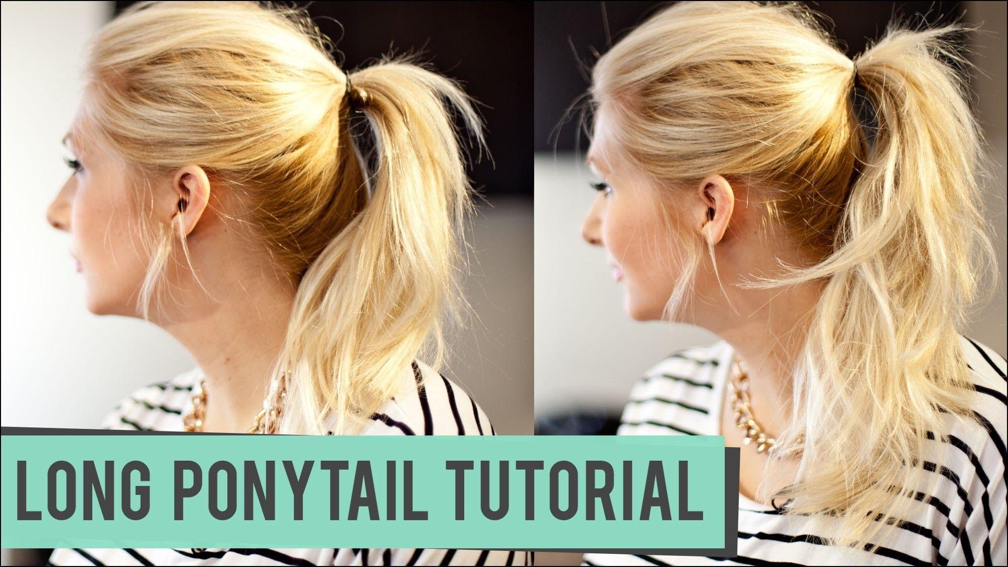 Hairstyles Ponytails Medium Hair Hairstyles Ideas