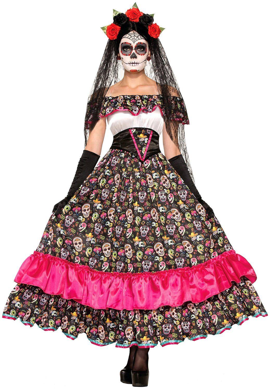 Dia de los Muertos Costumes Dia de, Costumes and