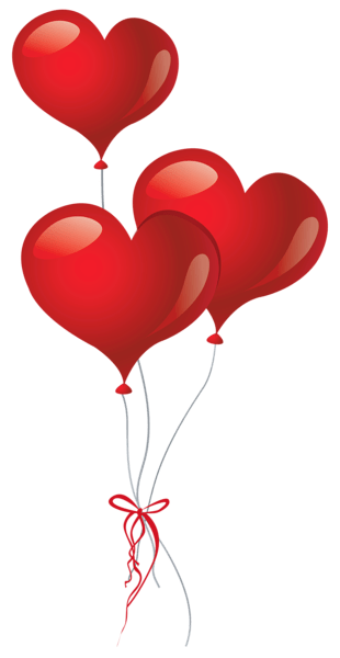Heart Balloons PNG Clipart Picture Balloons Pinterest