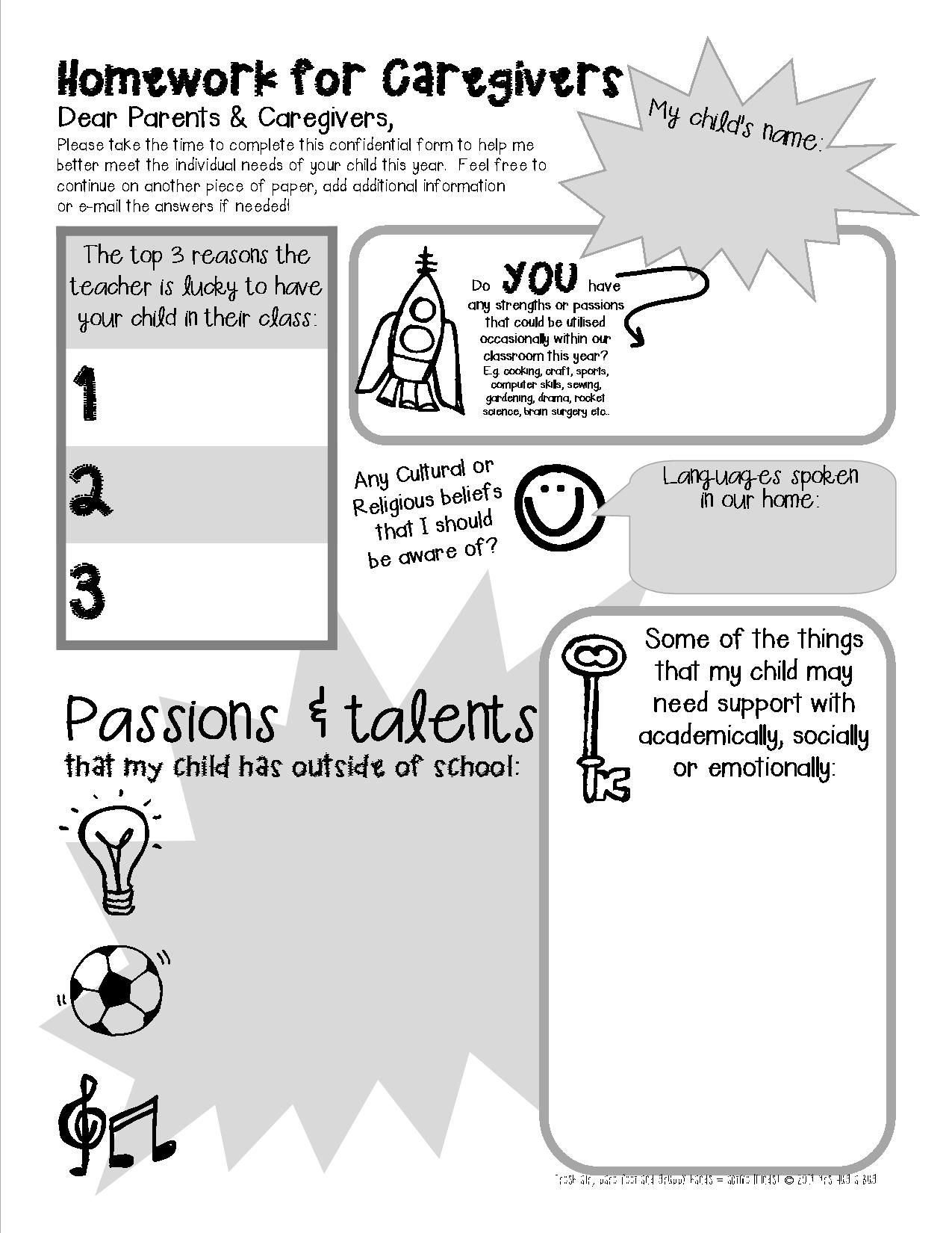 Free Printable These Fantastic First Week Of School
