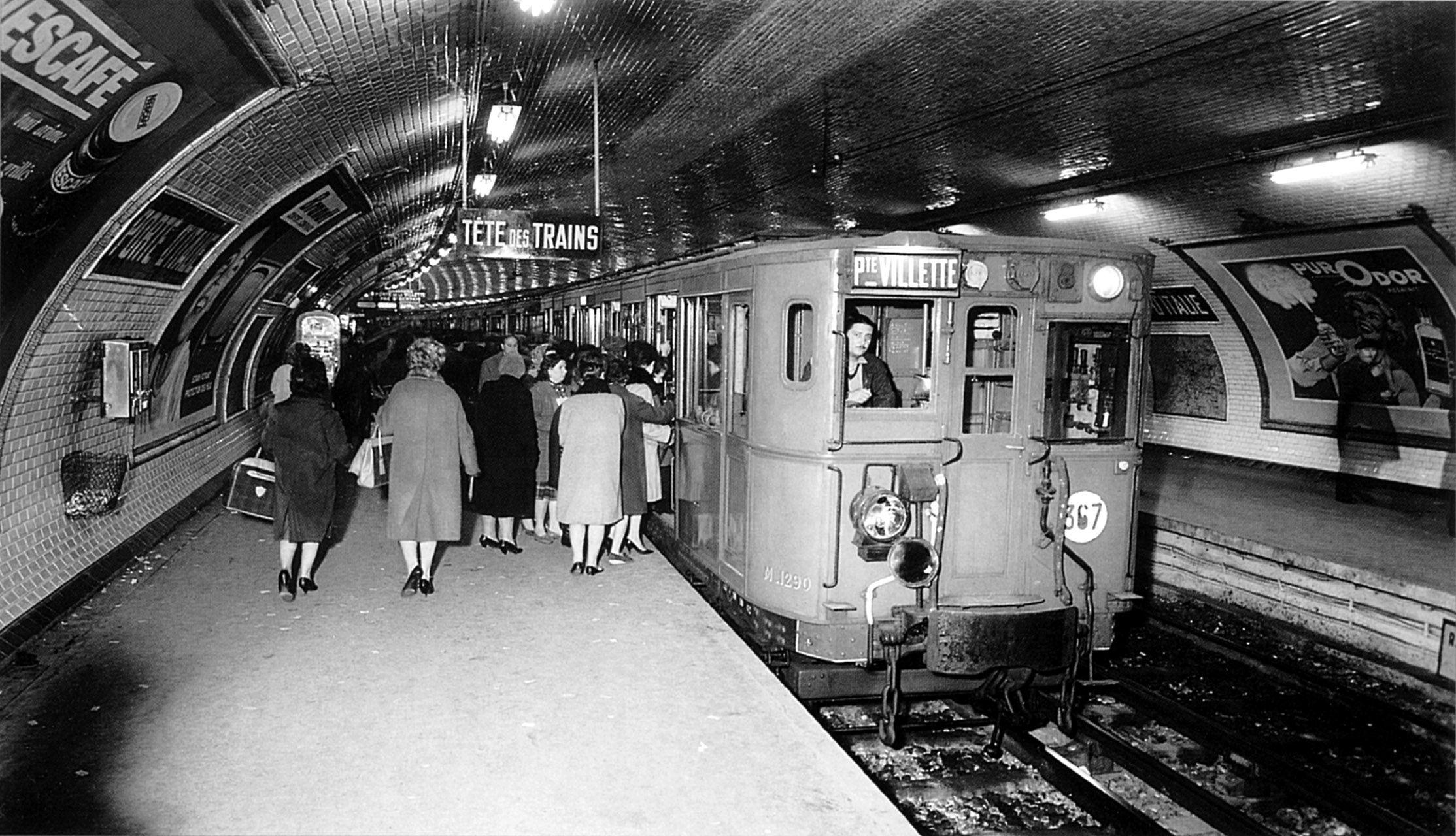 Metro de Paris Ligne 7 Porte d Italie. 1930 A World Ago
