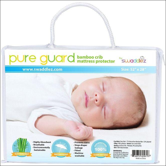 Baby Safe Crib Mattress Cover