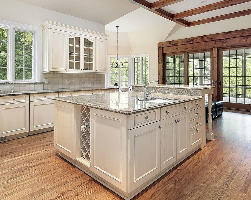 77 Custom Kitchen Island Ideas (Beautiful Designs) White