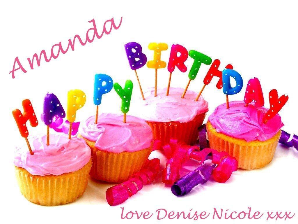 Happy birthday amanda happy birthday amanda carrington