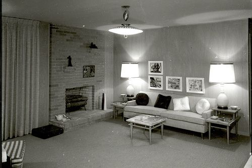 1950s Living Room Pictures Living Room Dallas 1950 S