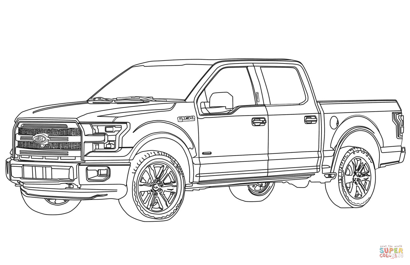 Image Result For Ford F150 Drawing
