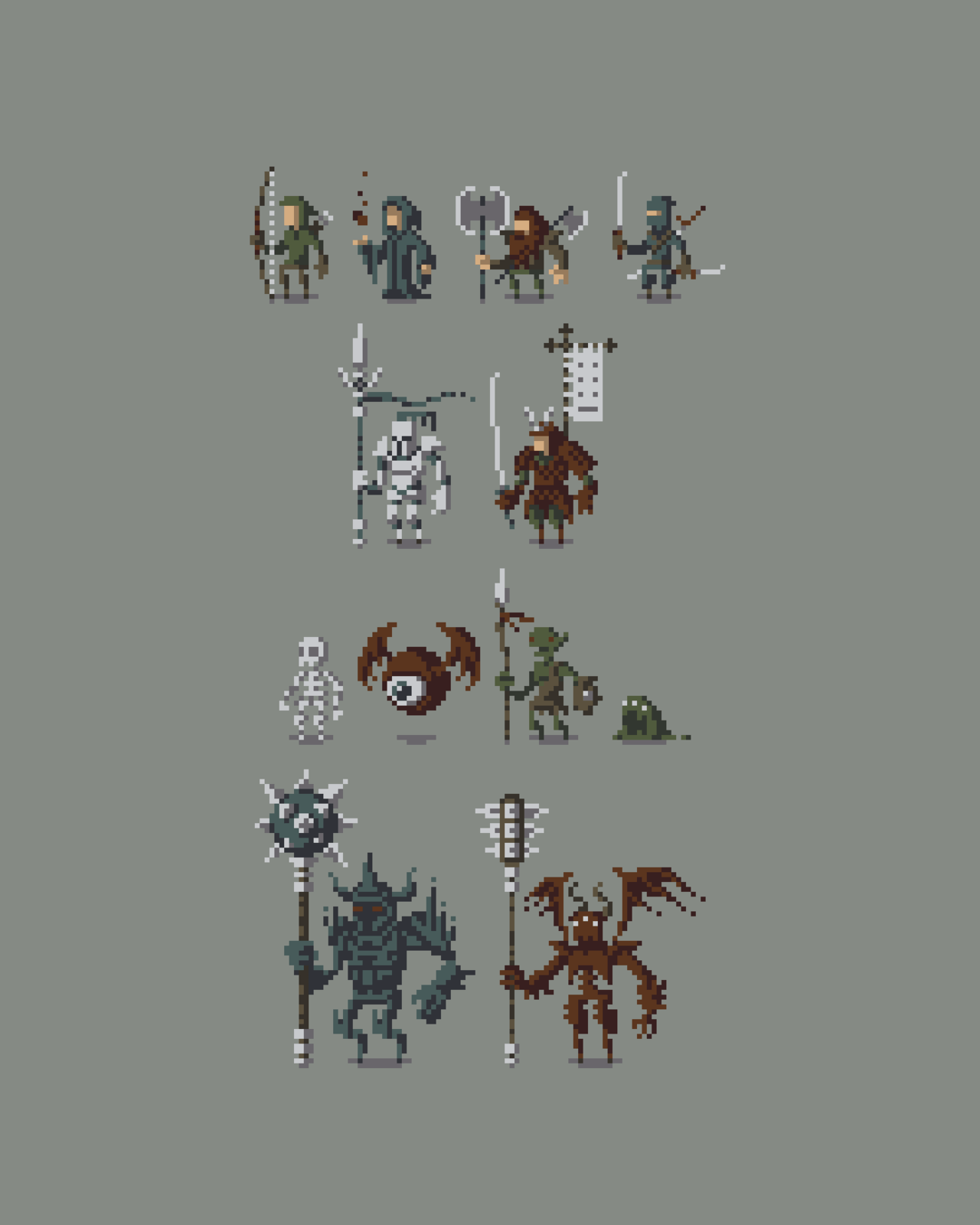 Best 25 Pixel Characters Ideas