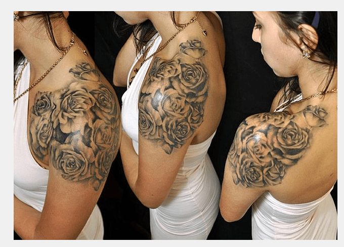 29 shoulder tattoo placement Beautiful Artwork