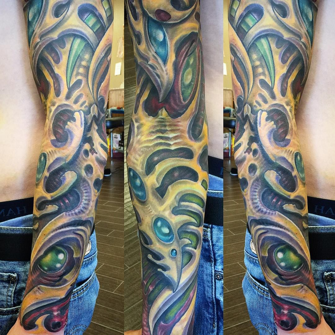 35 Best Biomechanical Tattoo designs Contemporary Life