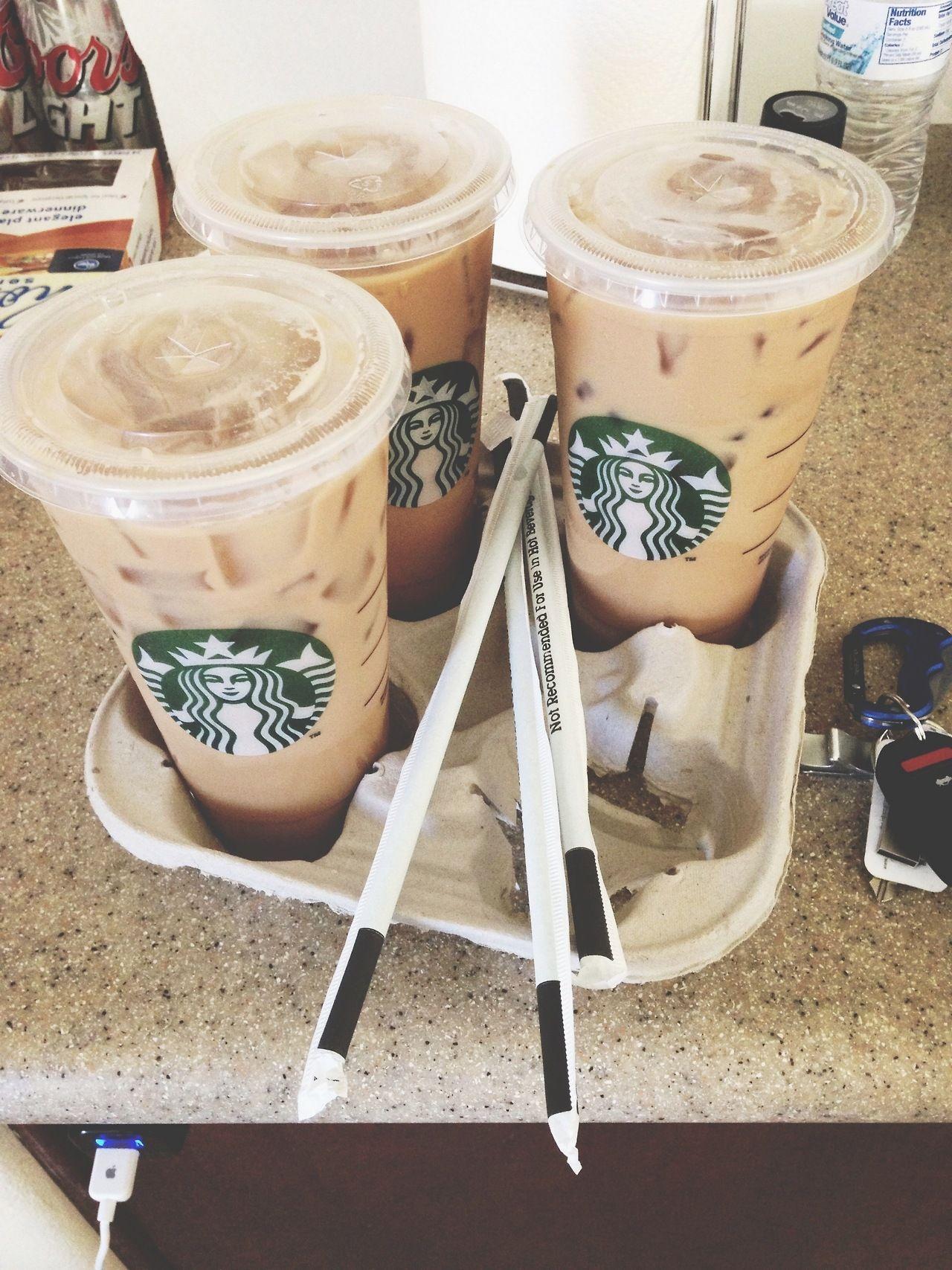 Morning coffee (40 photos) Starbucks, Vanilla iced