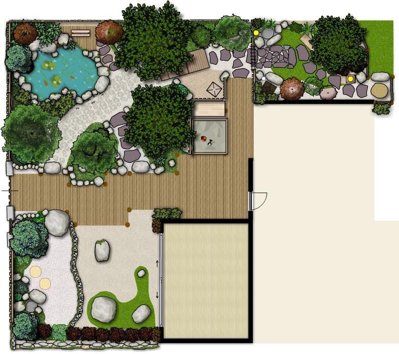 Garden plan design... My Japanese Garden My Japanese