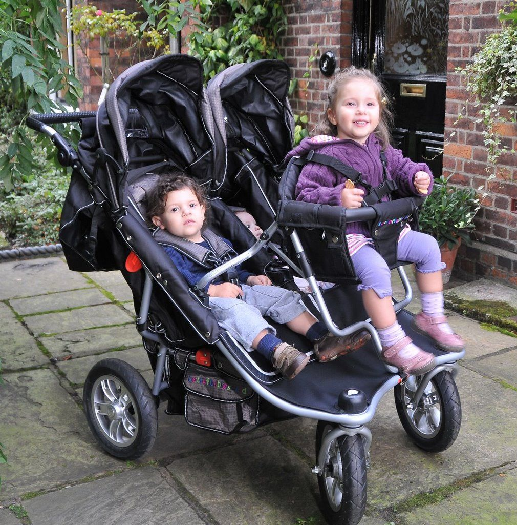Our T3 Triple Stroller is the ultimate triple pram