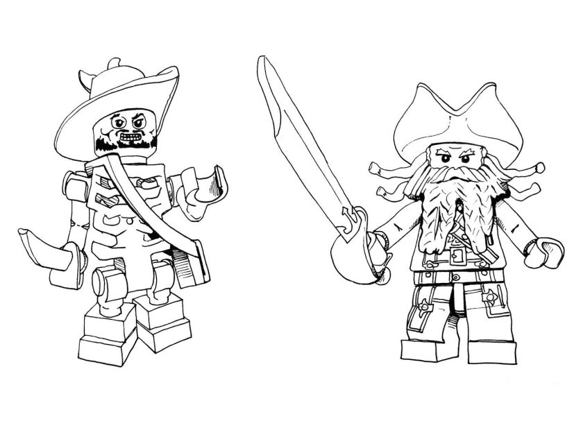 lego pirate coloring page  pirate party  pinterest  lego
