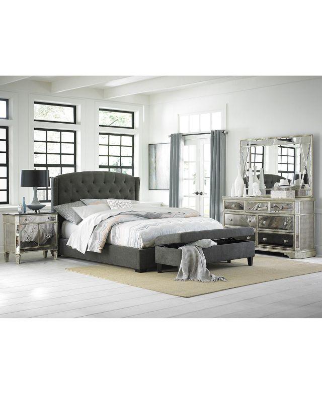 Lesley Upholstered King Bed