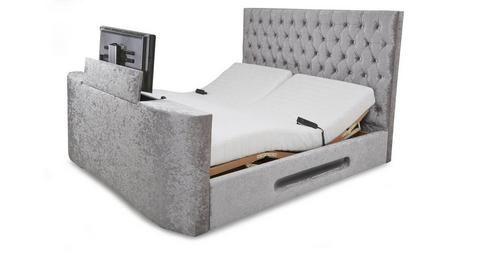 Impulse Super King Size 6 Ft Adjule Tv Bed Mattress Dfs