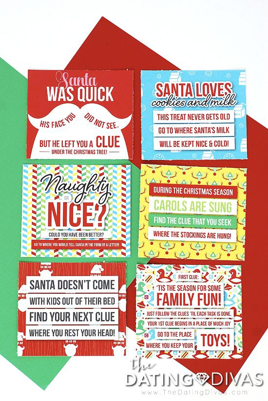 Christmas Scavenger Hunt Christmas scavenger hunt