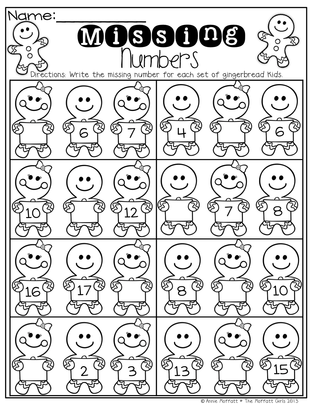 17 Maths Worksheets For Kindergarten Before And After