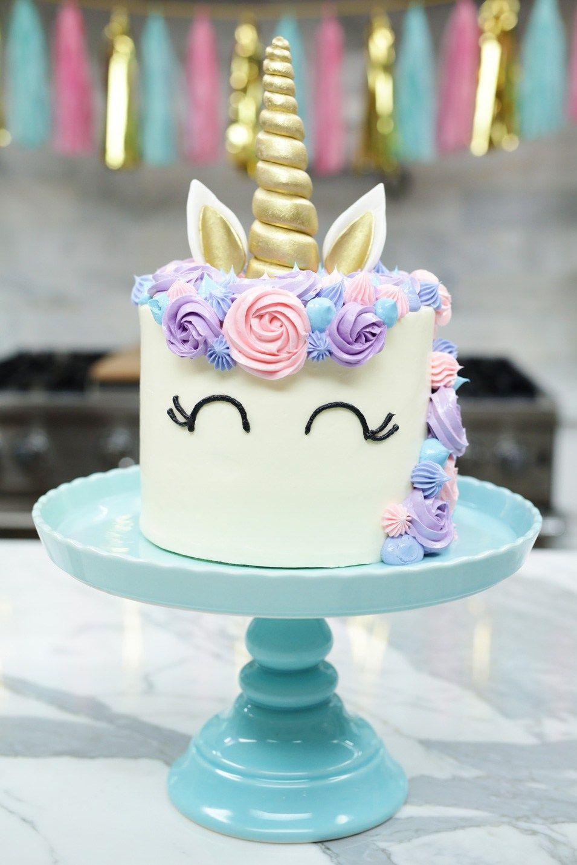 How to make a Unicorn Cake Unicorns, Cake and Recipes