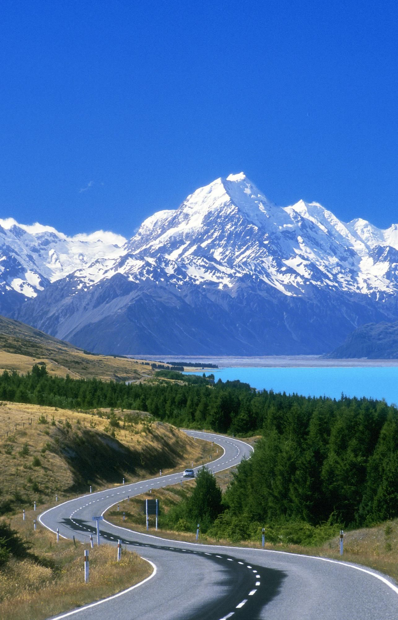 New Zealand Scenic Road Amazing Views ☆ Pinterest