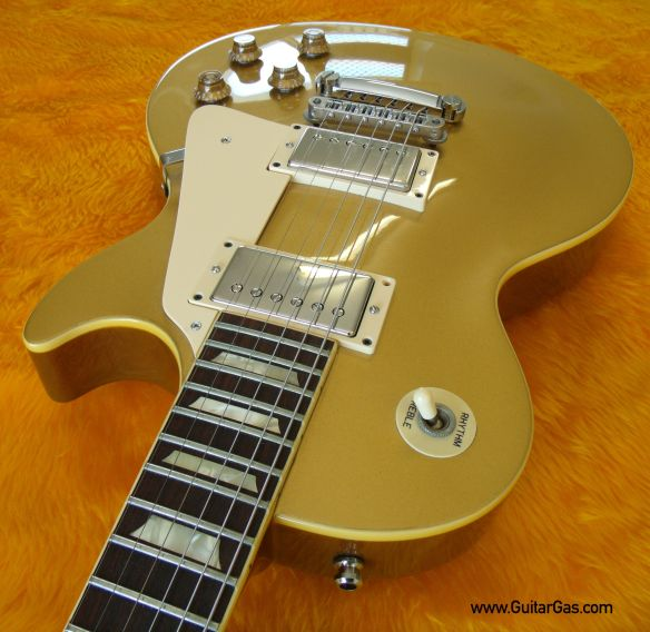 Fernandes Super Grade Gold Top with Nickle Covered Seth Lovers