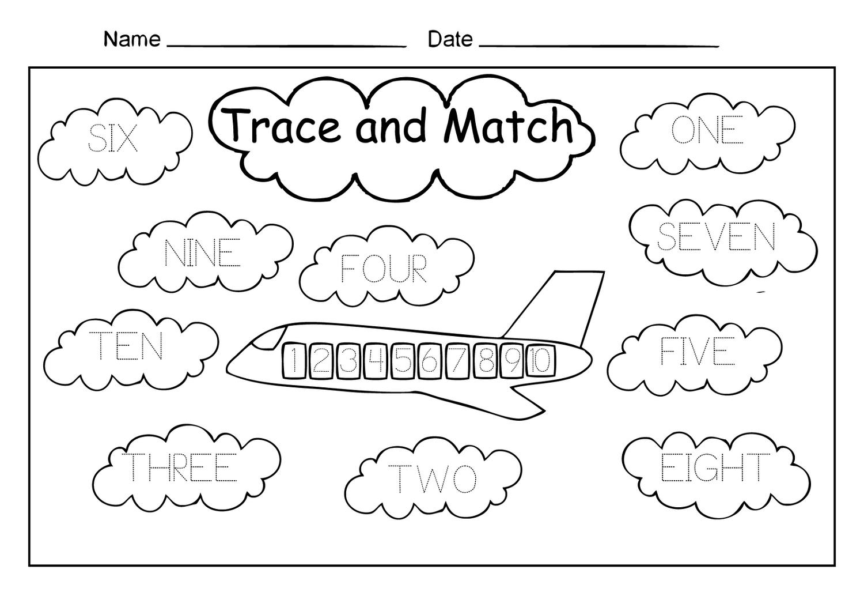 Number Worksheets For Children