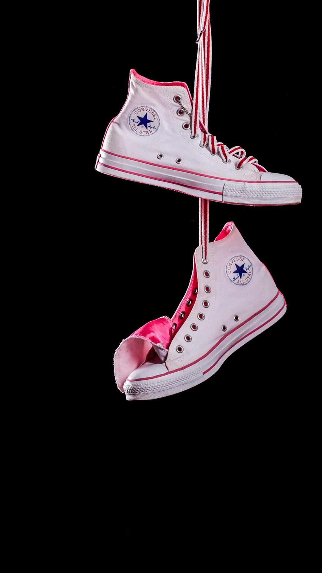 Misc iPhone 6 Plus Wallpapers Hanging Converse White