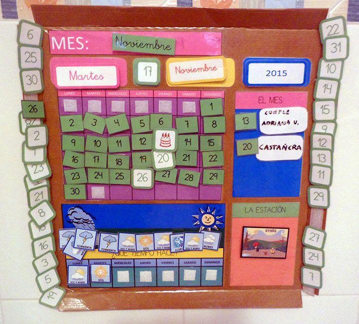 Calendario Anual DIY (Estilo Montessori) (1/6)