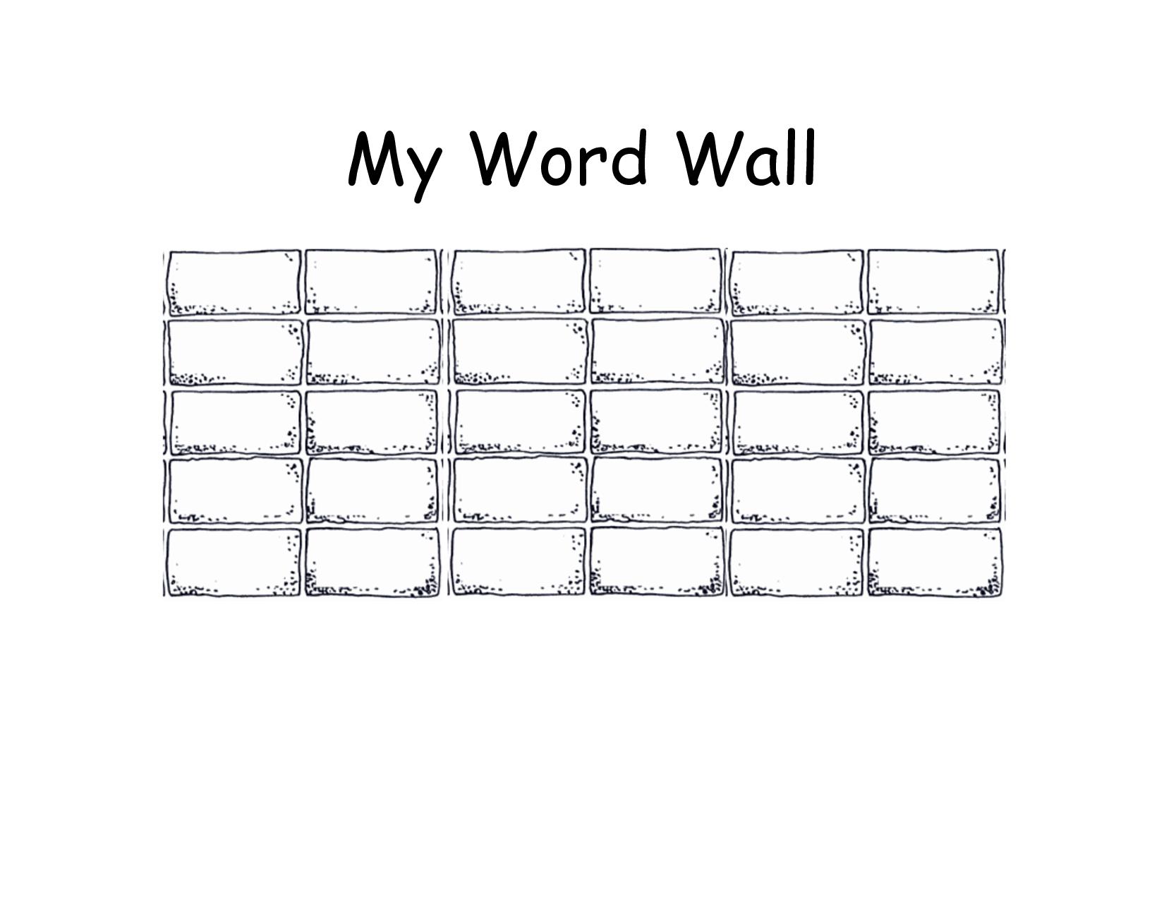 Blank+Printable+Word+Wall+Templates Descriptive Words