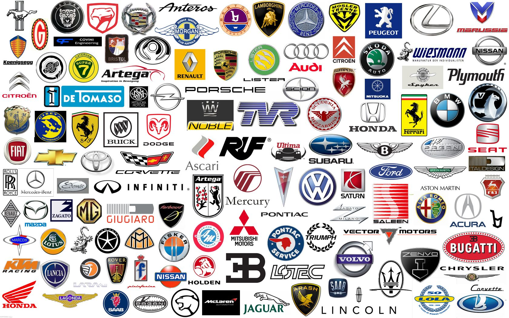 car logos and names free pictures, images car logos and