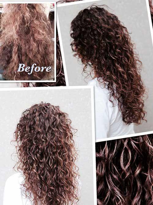 25 Curly  Layered Haircuts  Hair  Pinterest Haircuts