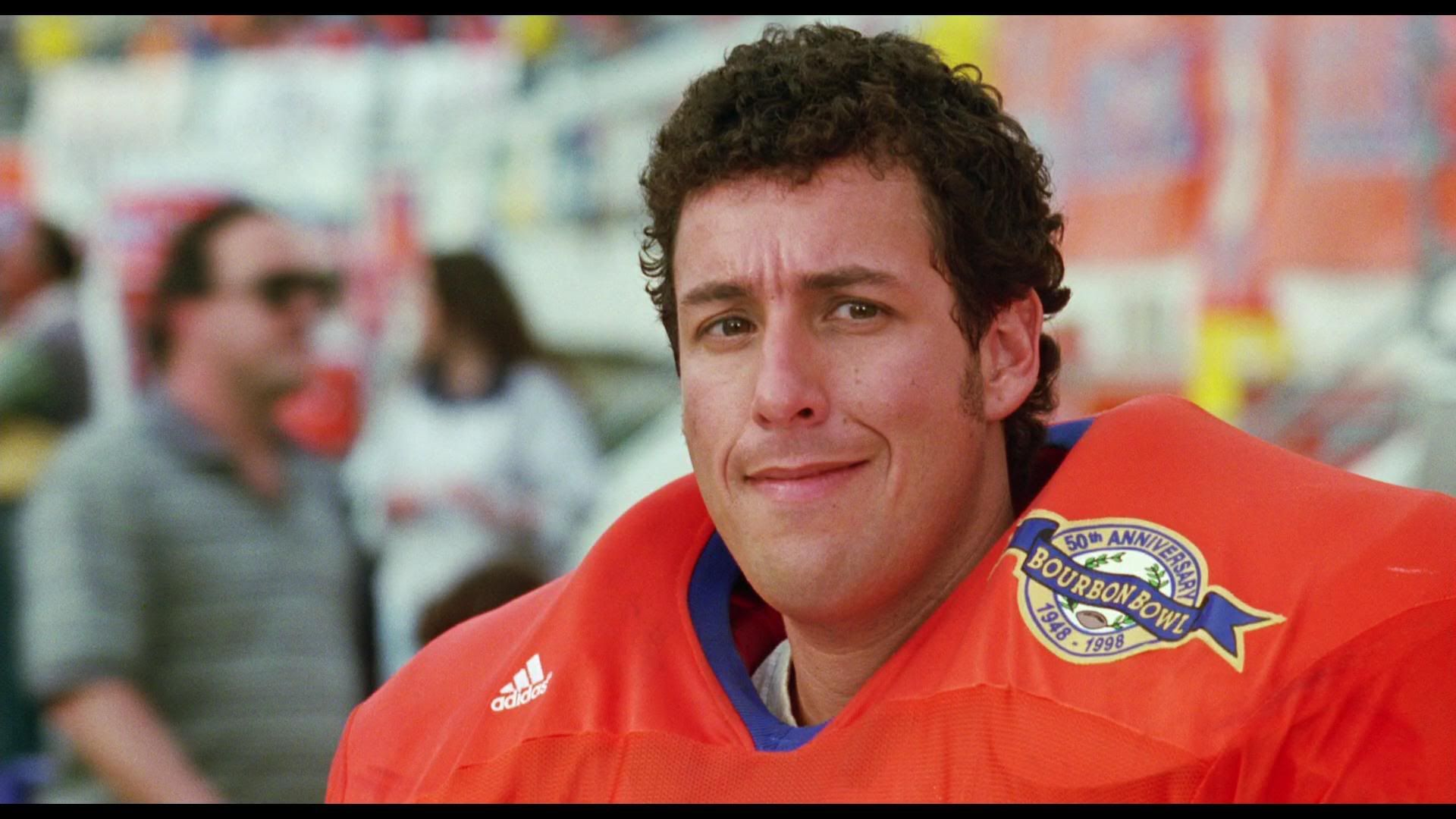 The Waterboy.. anything Adam Sandler! The Waterboy