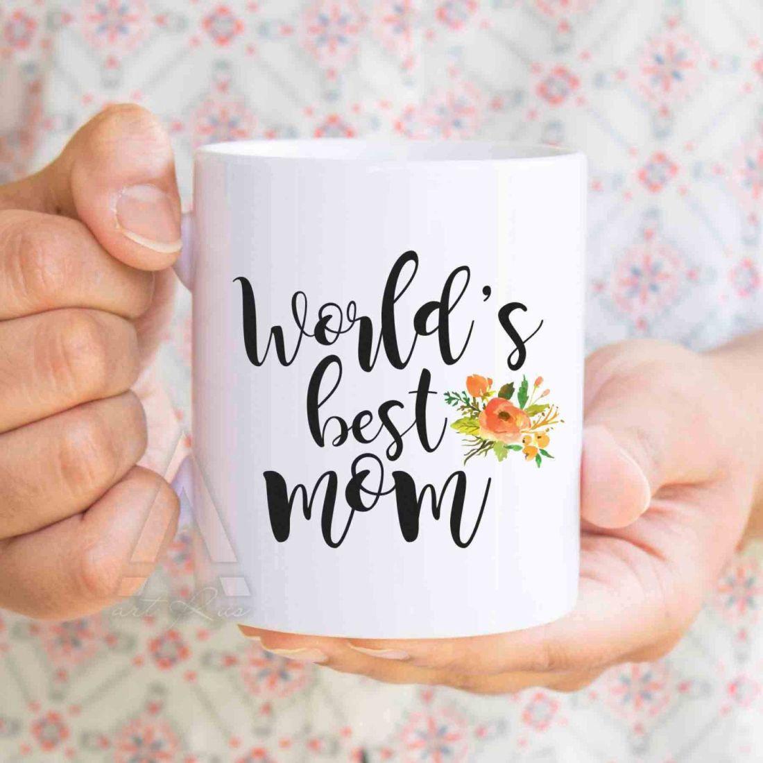 Christmas gifts for mom worlds best mom coffee mug mom