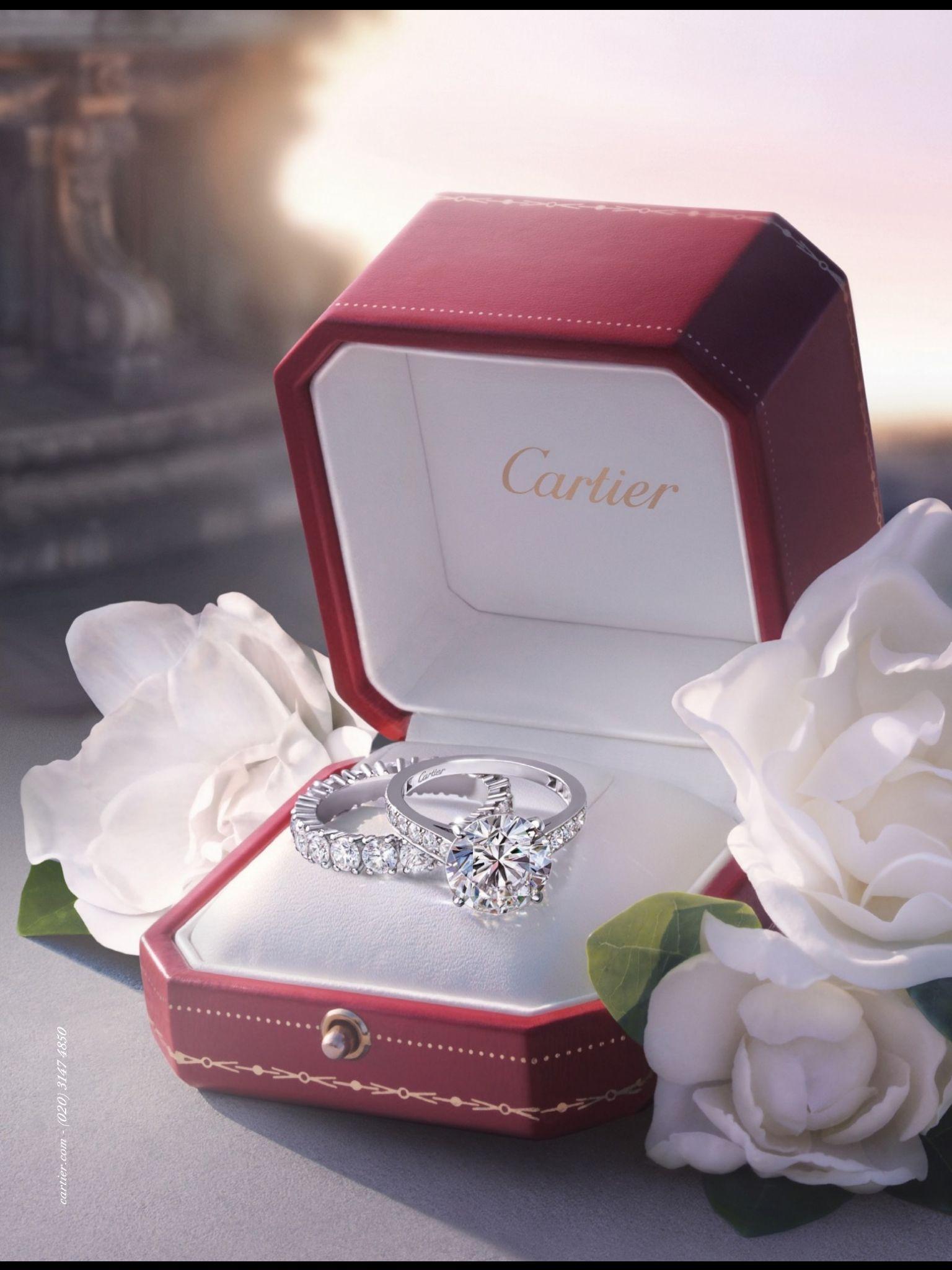 Cartier engagement ring Luxury Pinterest Cartier