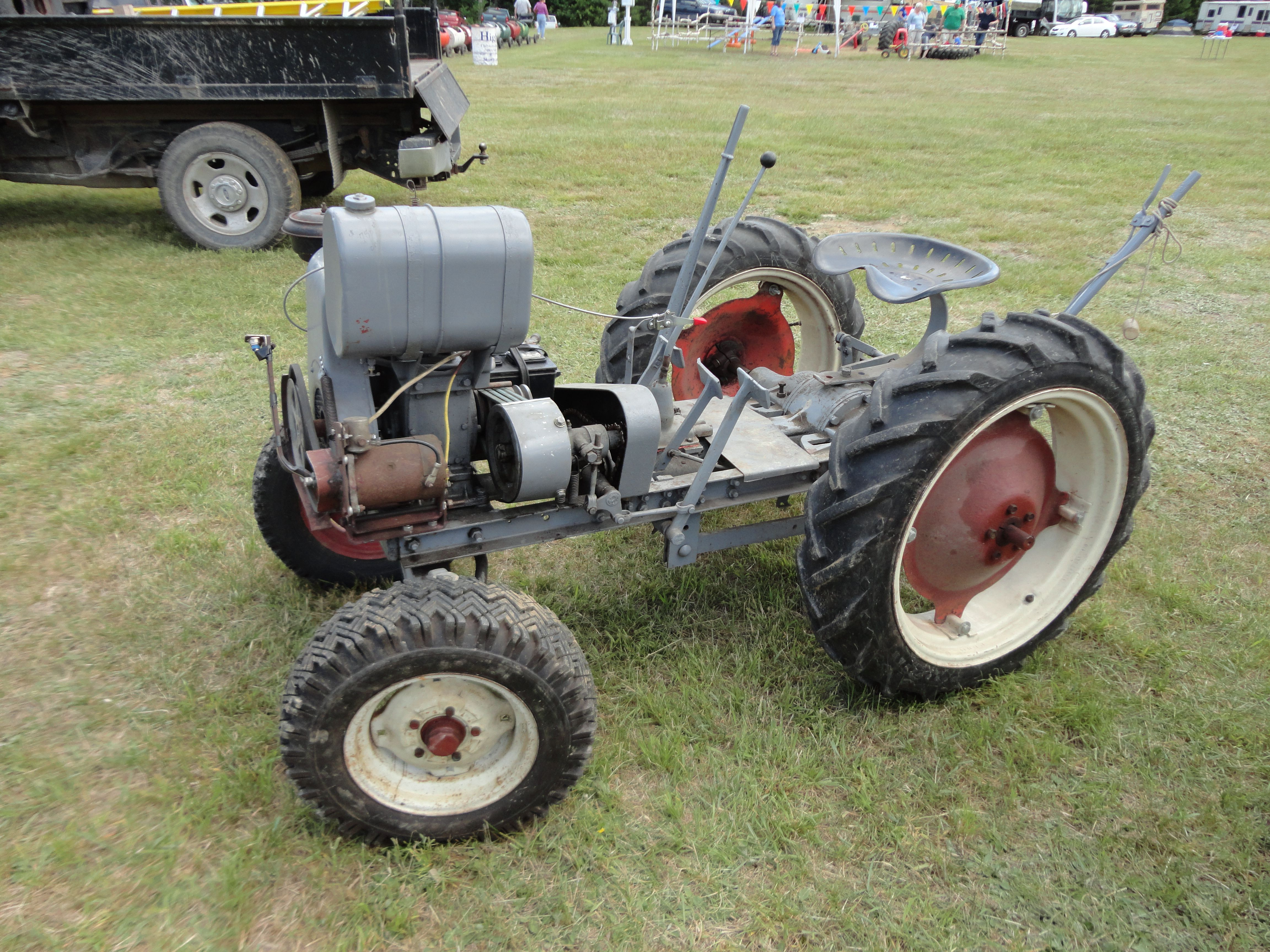300 Gibson Tractor. Looks like something that was built in
