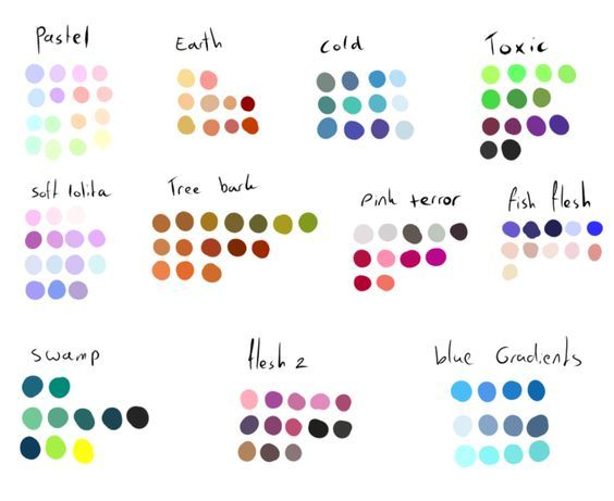 Free To Use Color Pallettes Pack  By Shadowinkadopts Deviantart Com On Deviantart