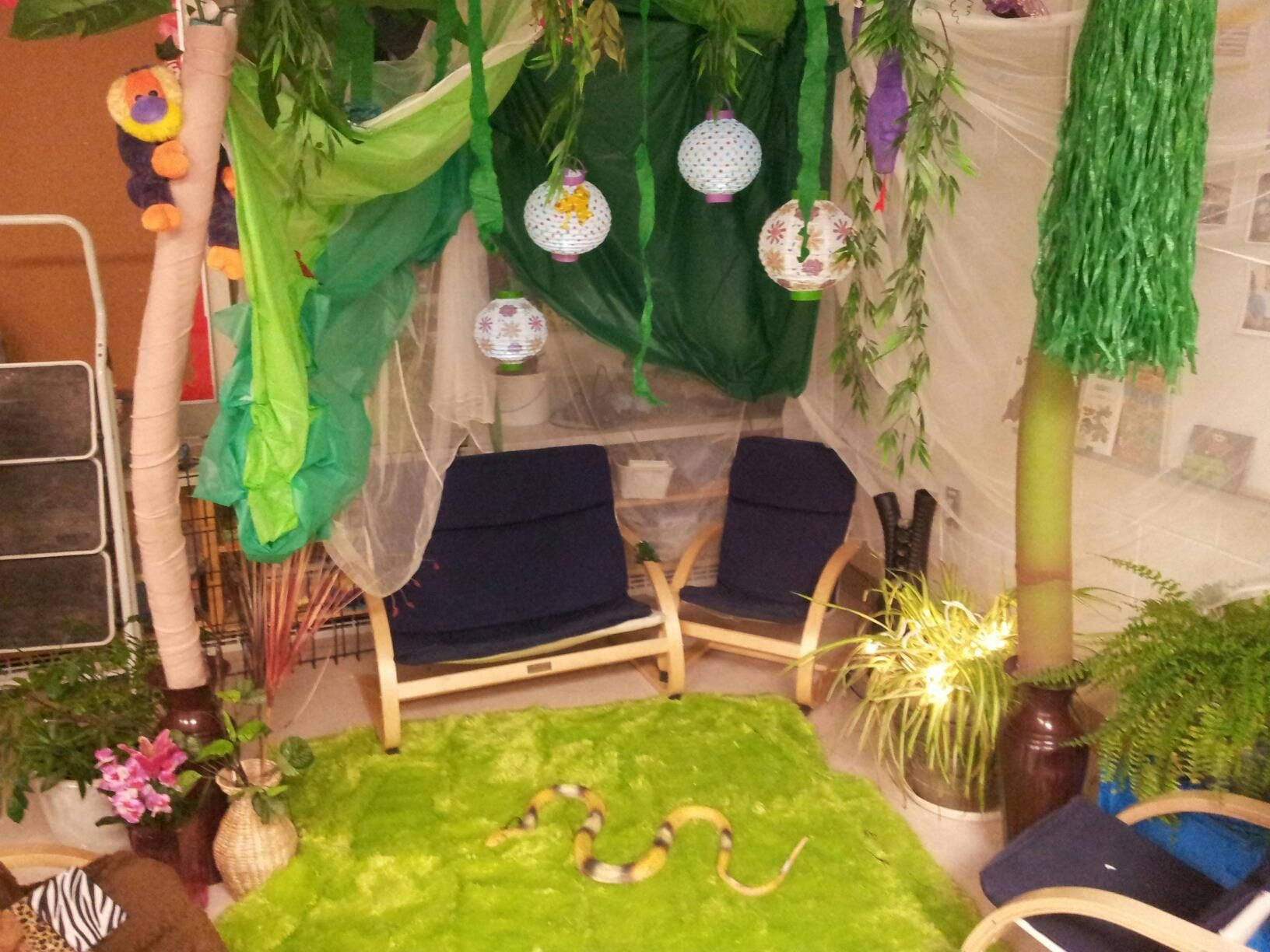 Tropical Rainforest For More Inspiring Play Ideas Pinterest Kinderooacademy Imagine