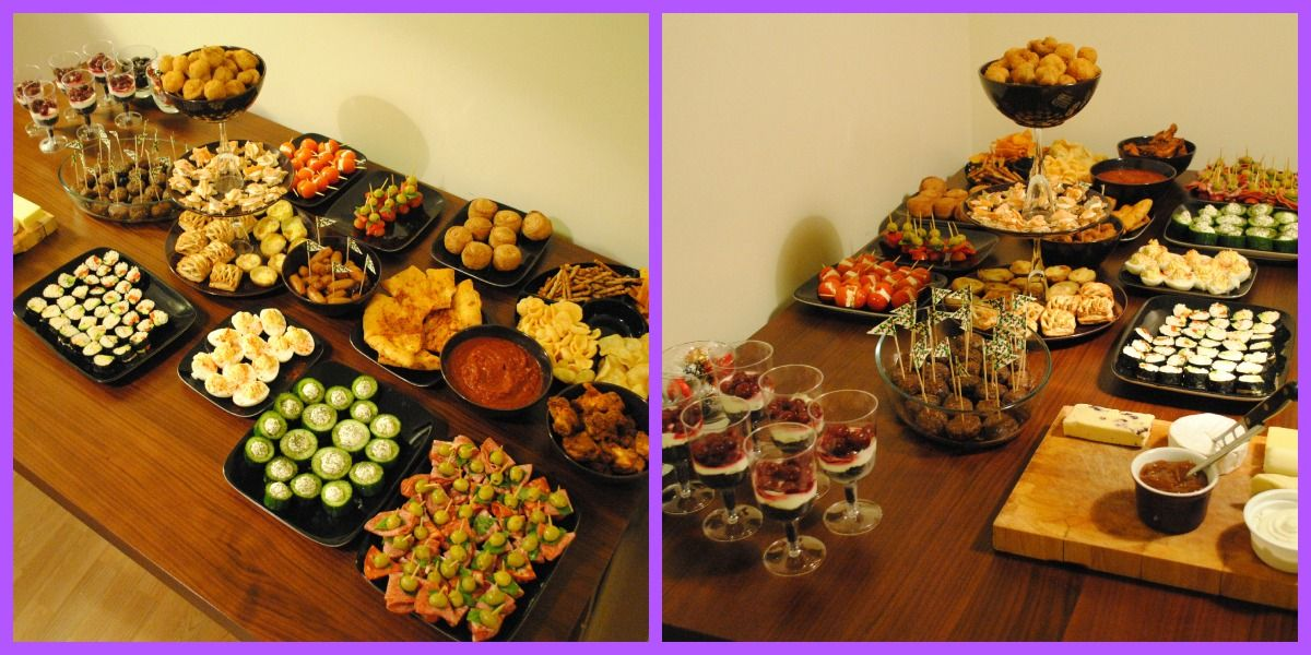 A Hungry, Healthy and Happy New Year's Eve Food, Dips