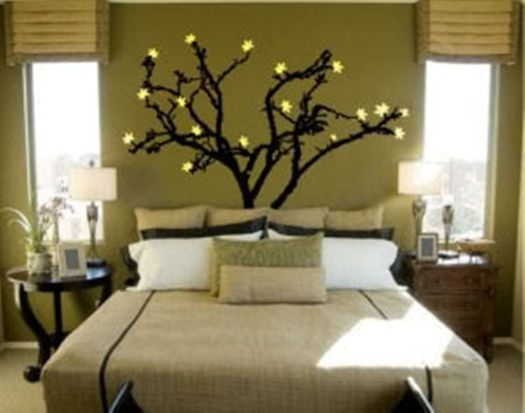 Wall Painting Designs For Bedrooms Ideas A Tree Cool Bedroom